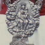 """1673 De kasteelheer van Leefdael schenkt een breuk met de afbeelding van O.L.Vrouw met het kindje Jezus, op een wolk gezeten, aan de """"coninkcschutter"""""""