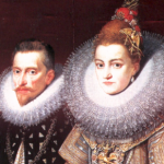 1598 Albrecht en Isabella zijn de schuttersgilden zeer genegen