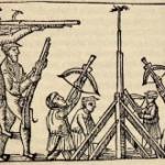1453 Het militaire karakter van de schuttersgilden verdwijnt op de achtergrond.