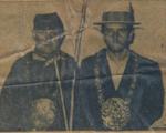 1959 Vader en zoon Trappeniers nogmaals tegelijk koning